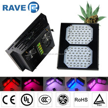 Red/Blue/white Emitting Color and aluminium Lamp Body Material 300w led grow light