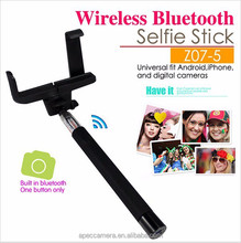 New Hot Sale Telescopic Selfie Jack Wireless Bluetooth Remote Selfie Handheld Monopod Stick Phone for iPhone Android