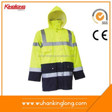 2015 Hot Cotton Brand Clothing Plus Size Reflective Jackets for Men