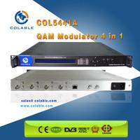 Digital Headend DVB-S/-S2/-C/-T tuner RF to QAM Modulator