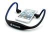 Factory outlet cheap neckband sport wireless 4.0 bluetooth headset with mp3 fm radio player