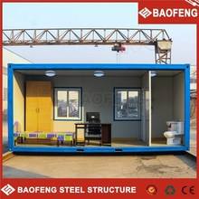 modern trailer container build a prefab house for dormitory