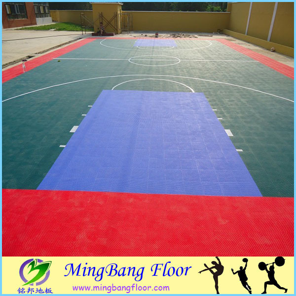 Low Price Protable Used Sport Court Basketball Badminton