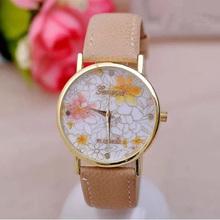 Alibaba china wholesale 10 colors leahter watch geneva brand quartz best gift women watches