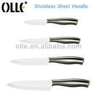 4pcs Stainless Steel Handle Stay Sharp Knife