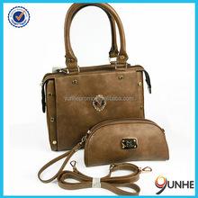 factory direct designer handbag 2015 brands 2 Pcs set bag fashion