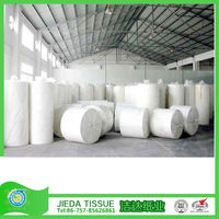 100% virgin facial tissue paper jumbo roll/parent jumbo roll for toilet tissue / 2 ply recycled kitchen towel mother roll
