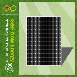 solar panels in brazil mono 260w with CE/CEC/TUV/ISO