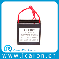 Electric Fan Capacitor (square type) CBB61