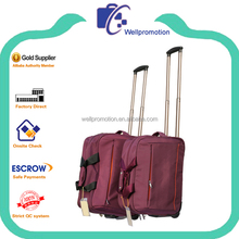 Wellpromotion new design fashion polo trolley luggage