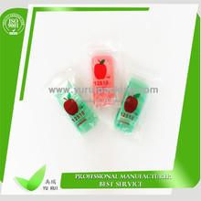 Mini apple zipper reclosable PE material bag