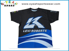 Popular customized sublimation new design gym t shirt