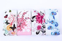 High Quality Flower Flip Cover Case For Samsung Galaxy S2 i9100
