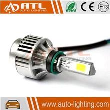 Newest 2600lm universal automatic headlights kit, round led auto headlight, auto led light high low headlight