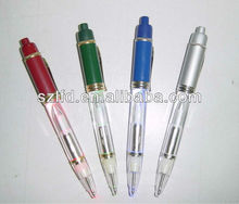 hot,hot,much function plastic pen with led flashlight