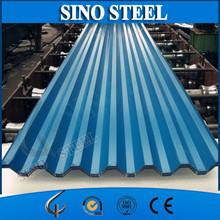 RAL COLOR prepainted corrugated metal roofing/steel roof tile