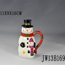 snowman mug with lid,snowman coffee mug