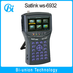 Wholesale High quality Satlink Finder Meter ws6932 Digital Satellite Tv Finder Meter WS-6932 In Stock