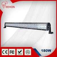 31.5 inch offroad truck jeep auto 4x4 led light bar, optional hyper spot 4d led light bar, hot selling 180W led bar