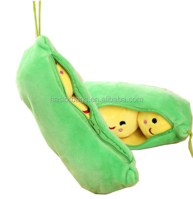Mignon en peluche sac de crayon / forme animale en peluche crayon cas