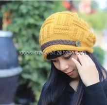 Factory sale new earflap crochet knitting winter hats
