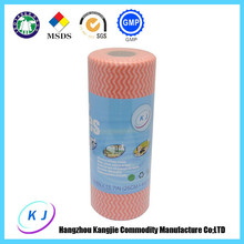 All purpose cleaning rag roll 20*40cm YELLOW, RED,BLUE