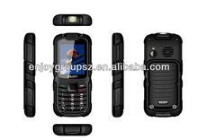 2.2inch rugged feature phone MTK6260 dual sim W26 ultra slim android smart phone ip68 water/dust/shock proof