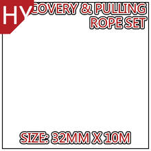 HYropes HR0010 ivory Color military rope twisted rope