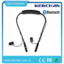 Handsfree earphone with magnetic earbuds and Microphone