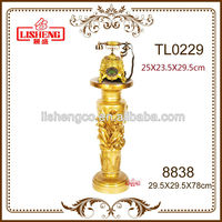 Fancy items in china plastic column pillars for decoration 8838
