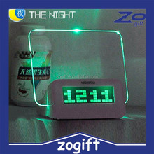 ZOGIFT laser projection clock projection alarm clock for promotion