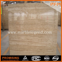 2015 hot sale natural well quality travertine marble floors
