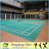 BWF basketball court flooring roll synthetic badminton court