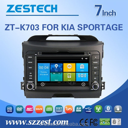 for kia sportage car stereo with CE EMC LVD FCC