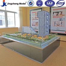 Qualité brillant à l'échelle de l'architecture modèles fournisseur appartement modèle chine modèle de formation mise en page