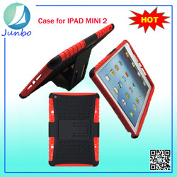 Wholesale kickstand silicone 7 tablet pc case for ipad mini
