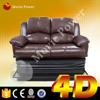 save energy 4d 5d 7d motion chair on truck cinema with luxury decoration
