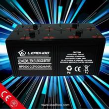 Lead acid Battery Solar Battery 2V 500 800AH 1000AH 2000AH 3000AH OPzV Battery