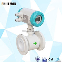pvc pipe water meter test electromagnetic flow meter with grounding ring