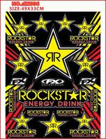 Grade packaging motorcycle sticker design for YAMAHA/SUZUKI/HONDA/ROCKSTAR