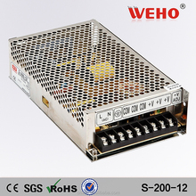 Competitive quotation 220v transformer 10a 12v 200w power supply switch