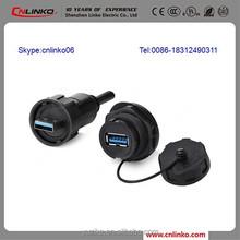 USB Mains Plug USB 3.0 Micro B Male to B Female Adapter Connectors