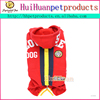 Baseball style warming pet coat for large dogs