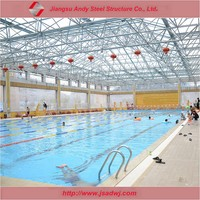 Hot sell metal structure roof for natatorium