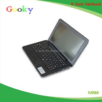 9 inch android dual core via 8880 512MB/4GB laptop prices in usa with ultra slim mini laptops