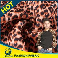 Fabric Leopard printed Wholesale Fabric