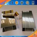 Hot padrão de alimentação de alta qualidade extrusão de alumínio porta perfil de alumínio desenho fornecedor OEM extrusão de alumínio perfil de porta