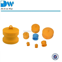 Nylon Cam & Groove Adapter Type DP (Male End Adapter)