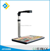 High resolution auto focus LED light A4 document scanner