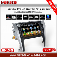 Car audio DVD gps multimedia radio Toyota Camry 2015 support BT USB SWC Russian menu+3G HOST+WIFI